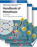 Handbook Of Metathesis 3 Volume Set Book PDF