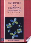 Mathematics for Competitive Examinations