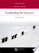Leadership for Lawyers Book