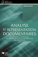 Pdf Analyse et représentation documentaires Telecharger