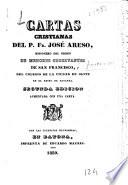Cartas cristianas     Segunda edicion aumentada con una carta