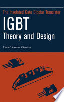 Insulated Gate Bipolar Transistor IGBT Theory and Design Book