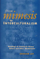 From Mimesis to Interculturalism: Readings of Theatrical ...