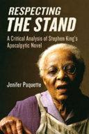 Respecting The Stand Pdf/ePub eBook