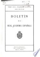 Boletín de la Real Academia Española  , Band 63