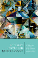 Socially Extended Epistemology Pdf
