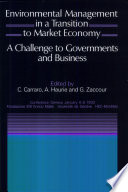 Environmental Management In A Transition To Market Economy