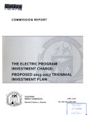 The Electric Program Investment Charge