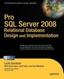 Pro SQL Server 2008 Relational Database Design and Implementation Book
