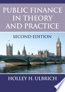 Public Finance In Theory And Practice Second Edition