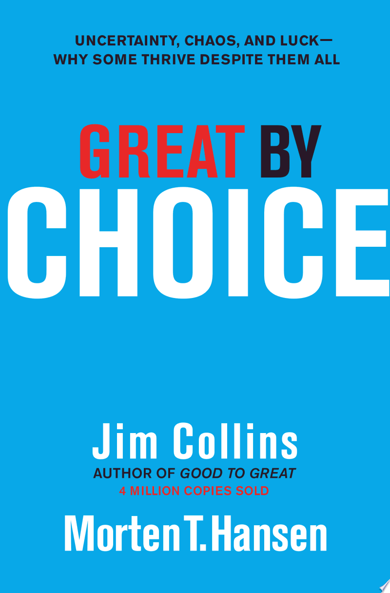 Great by Choice image