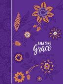 Amazing Grace (2019 Planner - Faux)
