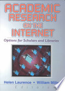 Academic Research on the Internet Book