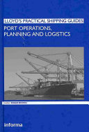 Port Operations  Planning and Logistics