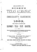 Burke s Texas Almanac and Immigrants  Handbook for