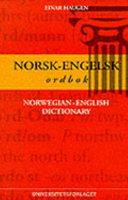 Norsk engelsk ordbok