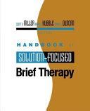 Handbook Of Solution Focused Brief Therapy Book PDF