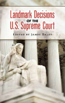 Landmark Decisions of the U.S. Supreme Court Pdf/ePub eBook