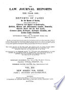 The Law Journal for the Year 1832 1949