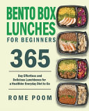 Bento Box Lunches for Beginners Book