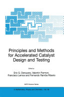 Principles and Methods for Accelerated Catalyst Design and Testing Pdf/ePub eBook
