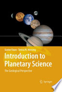 Introduction to Planetary Science Book