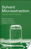 Solvent Microextraction
