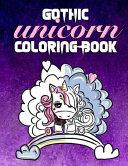 Gothic Unicorn Coloring Book