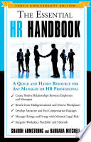 The Essential Hr Handbook 10th Anniversary Edition Book PDF