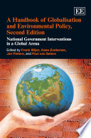 A Handbook Of Globalisation And Environmental Policy Second Edition