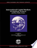 International Capital Markets: Developments, Prospects, and Key Policy Issues (September 1999)
