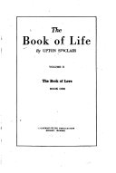 The Book of Life  bk  1  The book of love