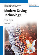 Modern Drying Technology  Volume 4