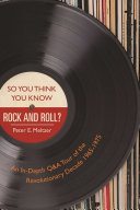 So You Think You Know Rock and Roll