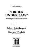 Order Under Law