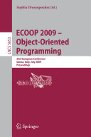 ECOOP 2009    Object Oriented Programming
