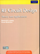 Rf Circuit Design,1/e With Cd