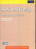 Rf Circuit Design 1 E With Cd Book PDF
