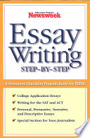 Essay Writing Step By Step