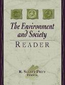 The Environment and Society Reader Book