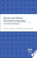 Racial and Ethnic Economic Inequality