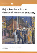 Major Problems in the History of American Sexuality Book