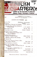 The English Quarterly