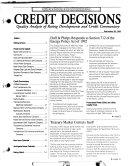 Credit Decisions