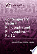 Contemporary Natural Philosophy and Philosophies   Part 1