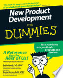 New Product Development For Dummies Book