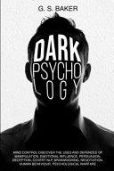 Dark Psychology Mind Control