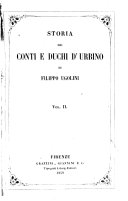 Storia dei contie duchi d'Urbino