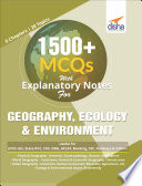 1500 Mcqs With Explanatory Notes For Geography Ecology Environment