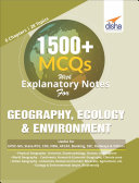 Pdf 1500+ MCQs with Explanatory Notes For GEOGRAPHY, ECOLOGY & ENVIRONMENT Telecharger
